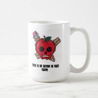 kein Schreien im ersten Grad Kaffeetasse