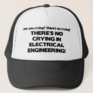 Kein Schreien in der Elektrotechnik Truckerkappe