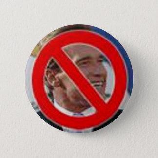 Kein Schwarzenegger! Runder Button 5,7 Cm