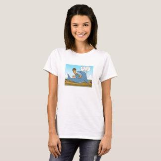 Kein Shaaark finning weißer T - Shirt
