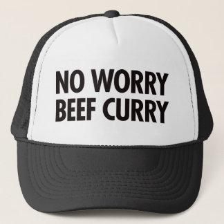 Kein Sorge-Rindfleisch-Curry Truckerkappe