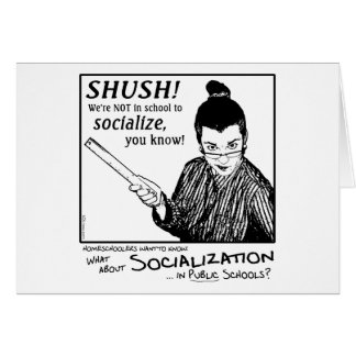 Kein Sozialisieren! Karte