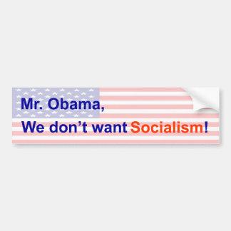 Kein Sozialismus Auto Aufkleber