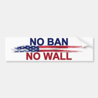 Kein Verbot keine Wand Autoaufkleber