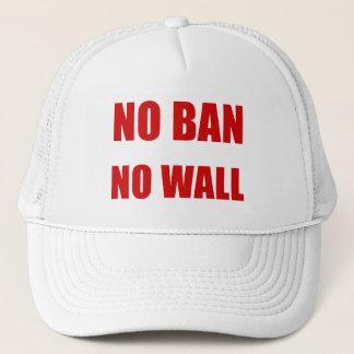 Kein Verbot, keine Wand Truckerkappe