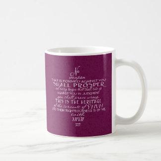 Kein Waffen-Davidsstern Wein Kaffeetasse