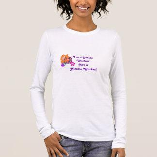 Kein Wundertäter! Langarm T-Shirt