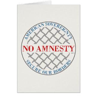 Keine Amnestie Karte