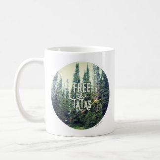 Keine BH erlaubt im Wald Kaffeetasse