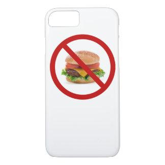 """""""Keine Burger"""" entwerfen Apple-Produkt-Hüllen iPhone 8/7 Hülle"""