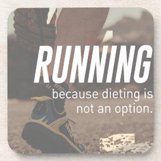 Keine Diät-gerade laufenden Läufer Untersetzer