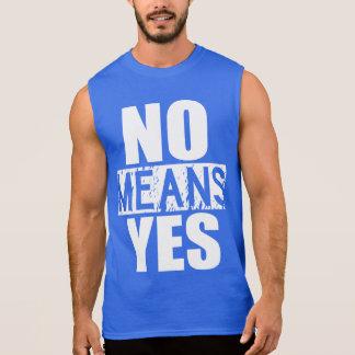 Keine Durchschnitte ja - gerade scherzend Ärmelloses Shirt