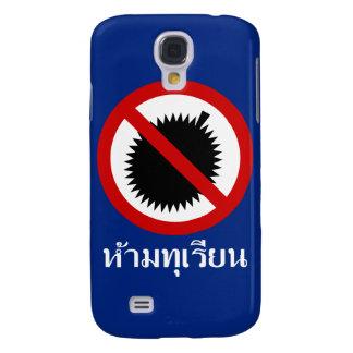 KEINE Durian ⚠ thailändische Sprachskript-Zeichen Galaxy S4 Hülle