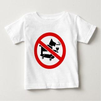 Keine fantastischen Hunde Baby T-shirt