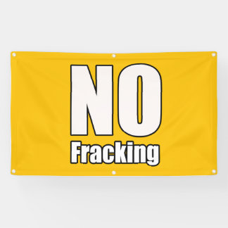 Keine Fracking Fahne 3' x 5' ft Banner