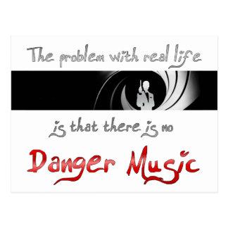 Keine Gefahrenmusik? Postkarte