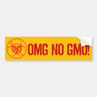 Keine GVO-Autoaufkleber-Biogefährdung KEIN GVO-Auf Autoaufkleber