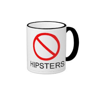 KEINE HIPSTER-Kaffee-Tasse Ringer Tasse