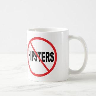 Keine Hipster! Tasse