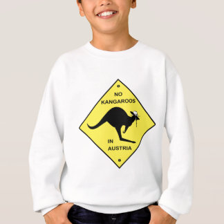 Keine Kängurus in Österreich! Sweatshirt