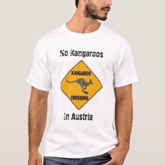 Keine Kängurus in Österreich T-Shirt