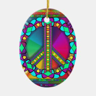 keine Kernwaffenzone gefärbt Keramik Ornament