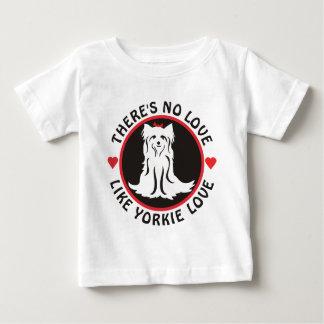 Keine Liebe mögen Yorkie Liebe Baby T-shirt
