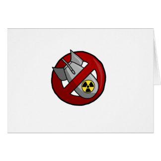 Keine nuklearen Waffen Karte