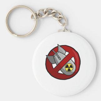 Keine nuklearen Waffen Schlüsselanhänger