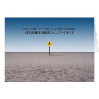 Keine offenen Grenzen Karte