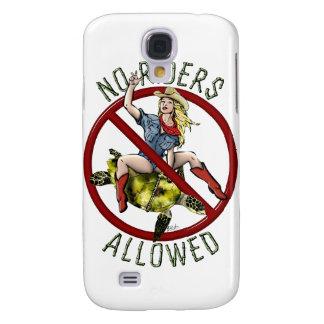 Keine Reiter erlaubt Galaxy S4 Hülle
