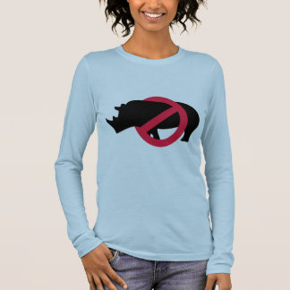 Keine Rhinos - Rino Kerl Langarm T-Shirt