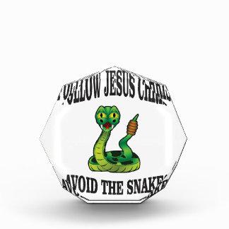 Keine Schlangen mit JC Acryl Auszeichnung