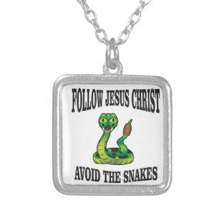 Keine Schlangen mit JC Versilberte Kette