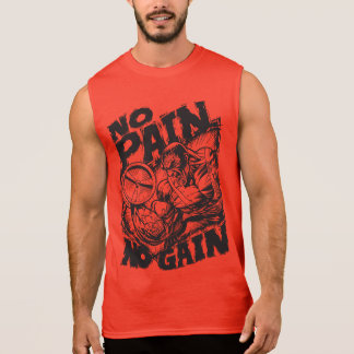 Keine Schmerz kein Gewinn - Ärmelloses Shirt