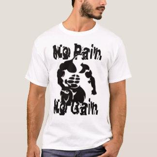Keine Schmerz kein Gewinn-Muskel-Shirt T-Shirt