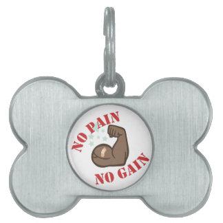 Keine Schmerz Tiermarke