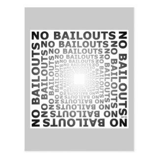 Keine Sicherheitsleistungen Postkarte