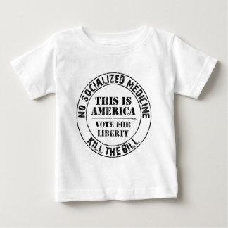 Keine sozialisierte Medizin Baby T-shirt