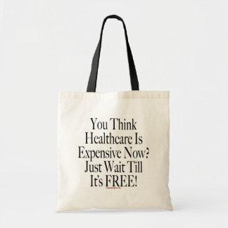 Keine sozialisierte Medizin-Taschen-Tasche Budget Stoffbeutel