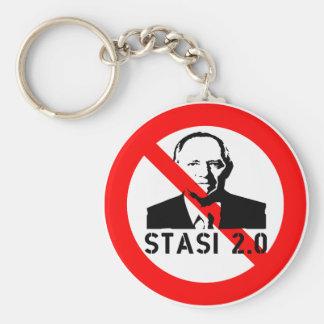 Keine Stasi 2,0 Schlüsselanhänger