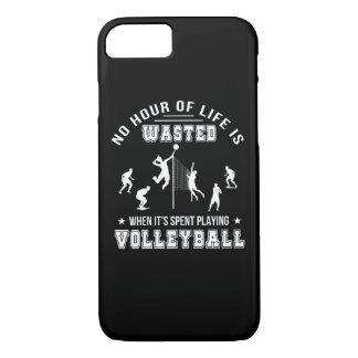 Keine Stunde vergeudet, wenn Volleyball gespielt iPhone 8/7 Hülle