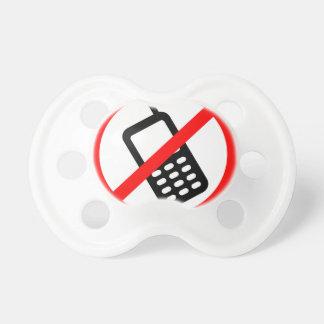 Keine Telefone erlaubt Schnuller