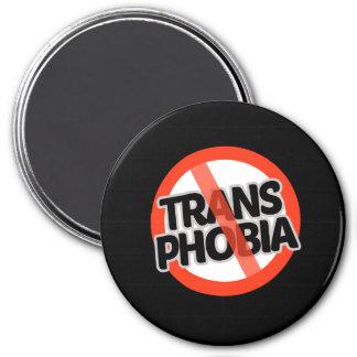 Keine Transport-Phobie - - Runder Magnet 7,6 Cm