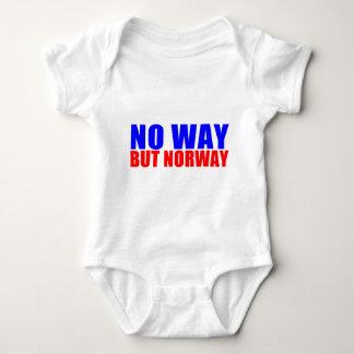 KEINE WEISE ABER NORWEGEN BABY STRAMPLER