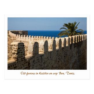 Kelibia. Tunis Postkarte