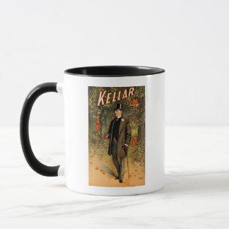Kellar der Magier mit Teufeln - Vintage Anzeige Tasse