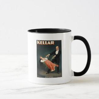 Kellar die Magier-Levitation - Vintage Anzeige Tasse