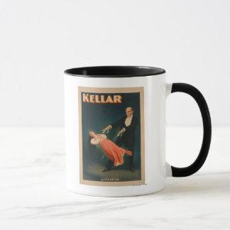 Kellar Levitations-magisches Plakat #2 Tasse
