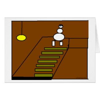 Keller-Treppe Karte